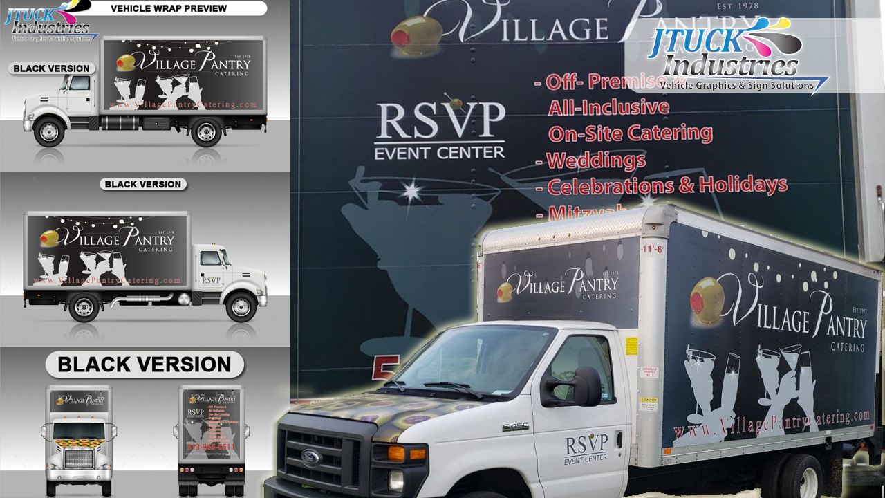 Commercial Box Truck Wraps