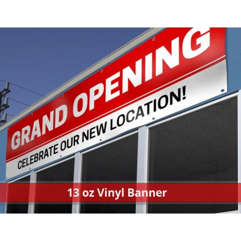 13 oz Vinyl Banner